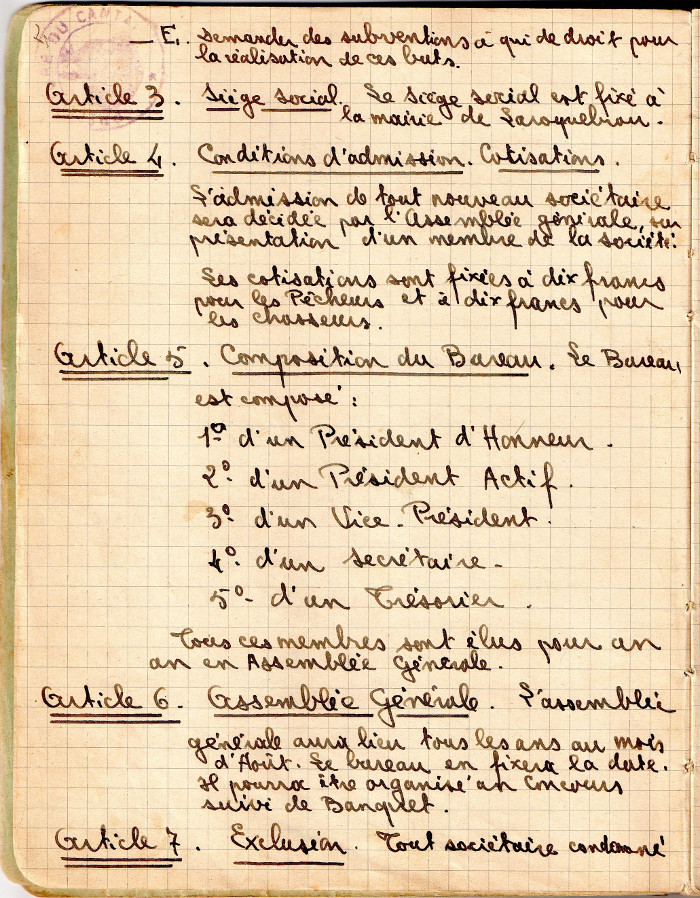 Anciens statuts - Page 2